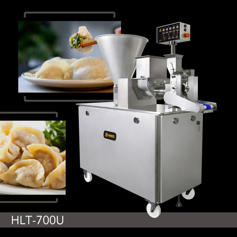 多功能充馅成型机 - HLT-700U. 全自动仿手工水饺成型机, 全新仿手作饺子机, 水饺机, 包馅机