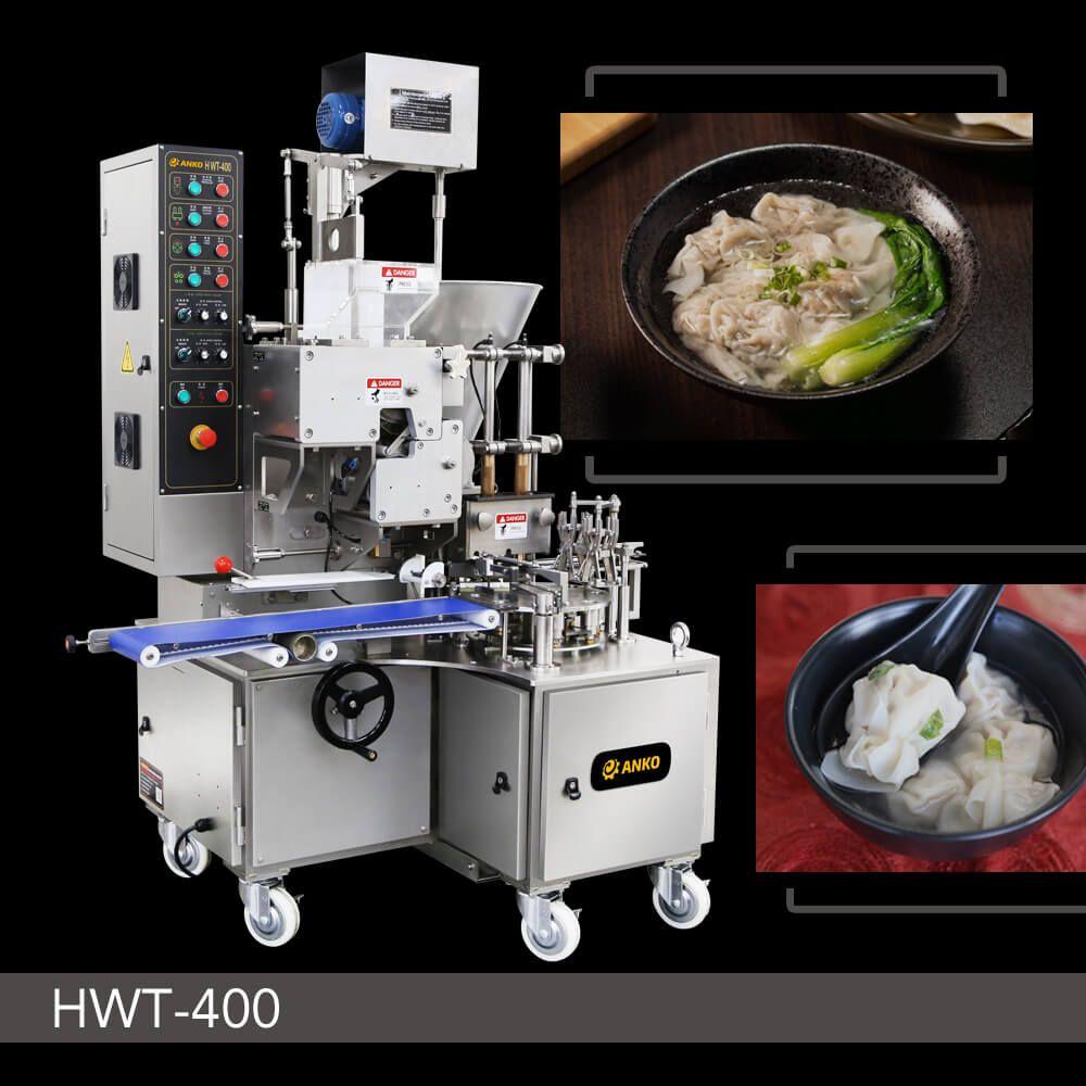 자동 더블 라인 완탕 기계 - HWT-400. ANKO 자동 더블 라인 완탕 기계