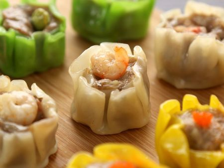 Delicious shumai with delightful appearance