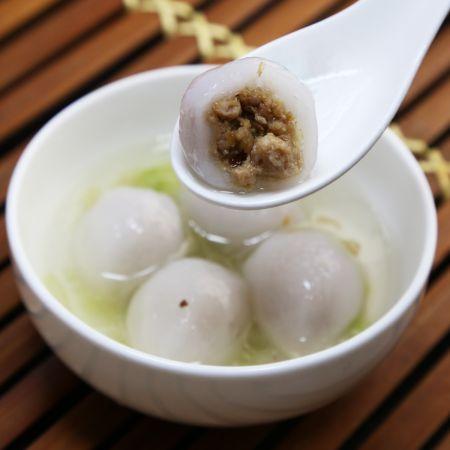 dumpling met gluten-vrij deeg
