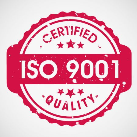 अब हम आईएसओ 9001: 2015 प्रमाणित हैं!