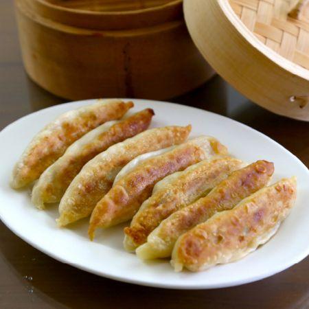 gebakken dumpling