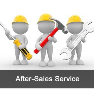 Изискване за следпродажбено обслужване - ANKO FOOD MACHINE CO., LTD.  гарантира, че машините и компонентите са произведени под строг контрол на качеството, за да се осигури нормална работа.  Гаранционният срок е една година от датата на пристигане в пристанището.