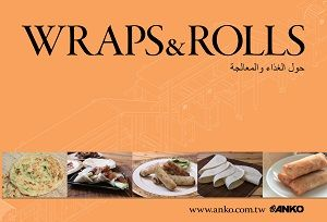 ANKO Wraps and Rolls -luettelo (arabia)