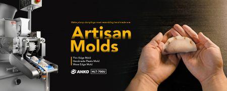 नया ARTISAN मोल्ड अलमारियों से टकराता है - अपनी आकर्षक उपस्थिति चुनें