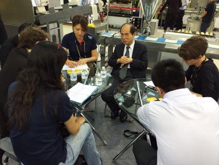 Une discussion face à face à Taiwan Int'l 2015