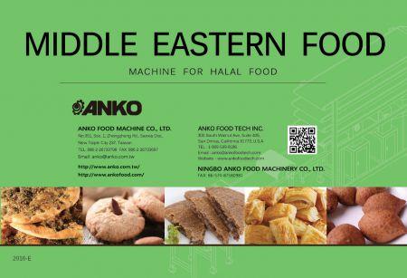 ANKO Middle Eastern Food Catalog | ANKO FOOD MACHINE CO , LTD