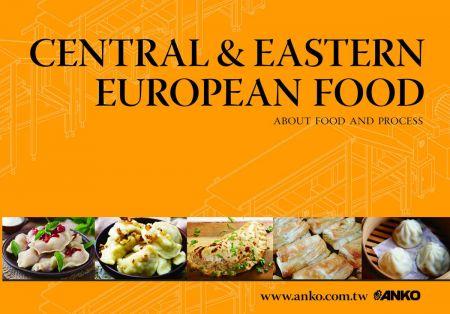 ANKO Centrālās un Austrumu Eiropas pārtikas katalogs - Centrālās un Austrumeiropas ēdieni