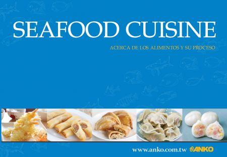 ANKO Katalóg kuchyne z morských plodov (španielsky) - ANKO Morská kuchyňa (španielska)