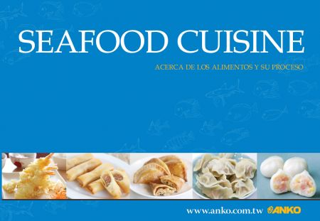Catalogue de la cuisine de fruits de mer ANKO (espagnol)