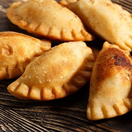 Curry Puff Produktionslösung