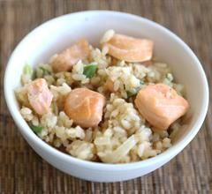 Salmon Fried Rice maskiner och