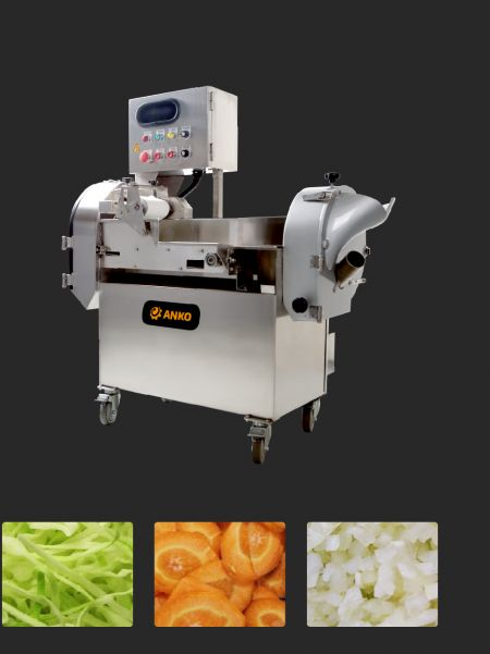 Multifunktionel grøntsagsskæremaskine - ANKO Multifunktionel grøntsagsskæremaskine