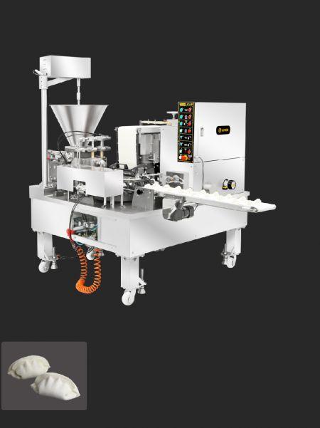 automatyczna podwójna linia produkcyjna do imitacji ręcznie robionych pierogów - ANKO Automatyczny      pieróg Maszyna pakująca