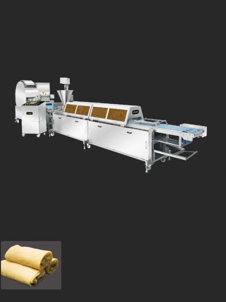 Linia de producție Blini - ANKO Linia de producție Blini