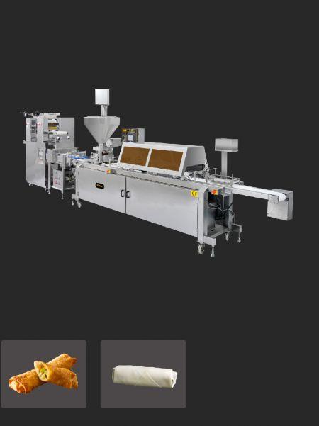 Mașină automată de rulat ouă - Mașină automată de rulat ouă