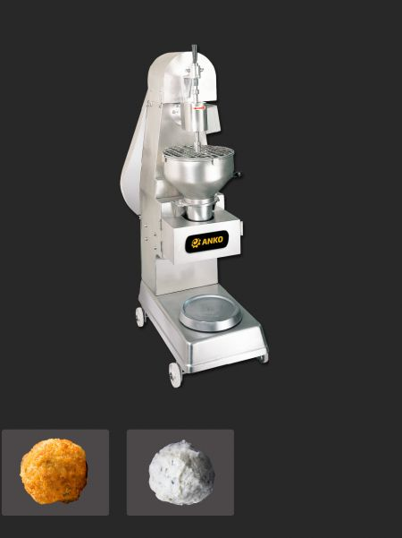 Автоматичний М'ясна кулька та Рибні кульки Виготовлення машини - ANKO автоматична станція для виробництва мясних та рибних кульок