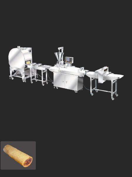Finger Spring Roll Production Line - ANKO Finger Spring Roll Production Line