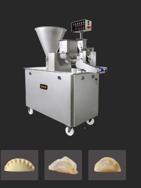 全自動仿手工水餃成型機, 全新仿手作餃子機, 水餃機, 包餡機