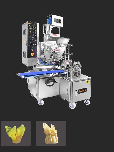 Otomatik Çift Hatlı Wonton Makinesi - ANKO Otomatik Çift Hatlı Wonton Makinesi