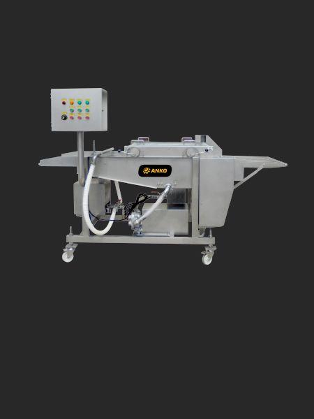 Beslagpaneermachine (type onderdompeling) - ANKO Beslagpaneermachine (type onderdompeling)
