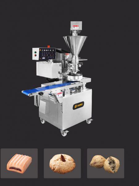 Automatische korstvorm- en vormmachine