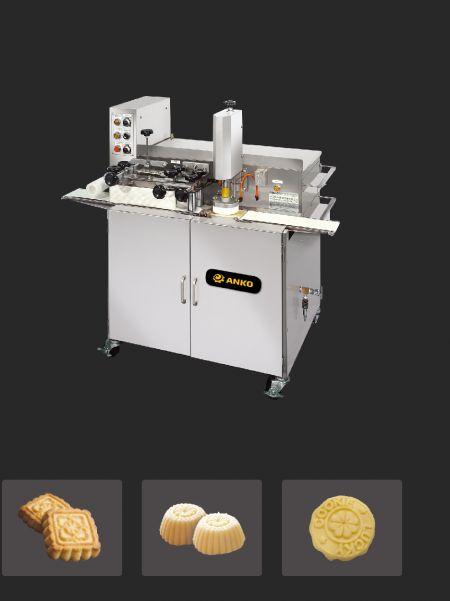 全自動棗泥餅與月餅連續生產線