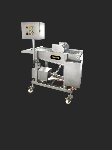 Beslagpaneermachine (watervaltype) - ANKO Beslagpaneermachine (watervaltype)