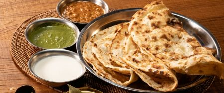 To get a glimpse of how irreplaceable the Indian lacha paratha is in Southeast Asia