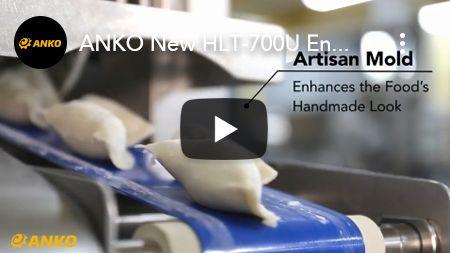 ANKO Nieuwe HLT-700U Verbetert de handgemaakte look van het voedsel