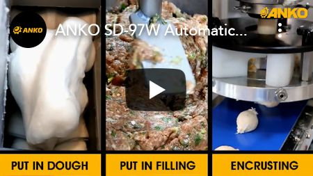 ANKO SD-97W автоматична лінія для покриття скоринкою і формування