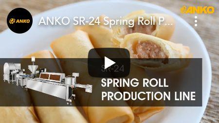 ANKO SR-24 สายการผลิตปอเปี๊ยะ