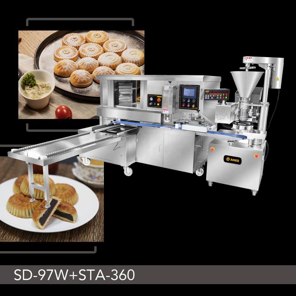 全自动枣泥饼与月饼连续生产线 - . 全自动枣泥饼与月饼连续生产线