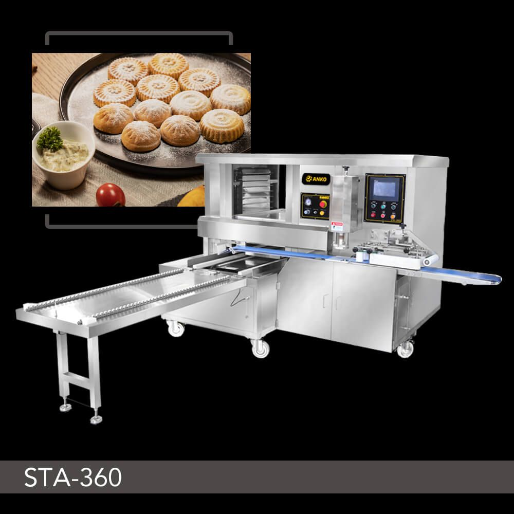 Automatic Stamping and Aligning Machine - STA-360. ANKO Automatic Stamping and Aligning Machine