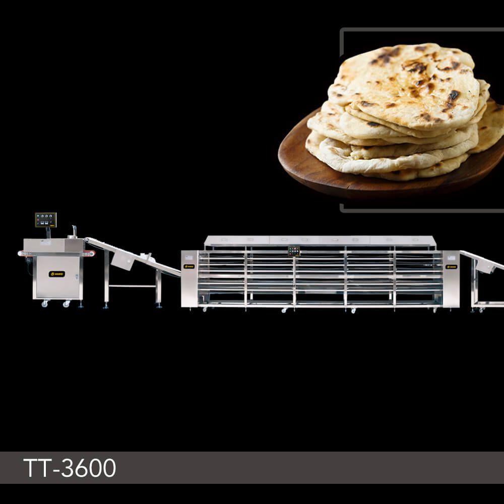 Tortilla Production Line - TT-3600. ANKO Tortilla Production Line