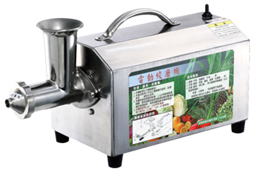 Moedor de 1/2 HP para frutas e vegetais - Produto do agente - Moedor JT70 1/2 HP para frutas e vegetais