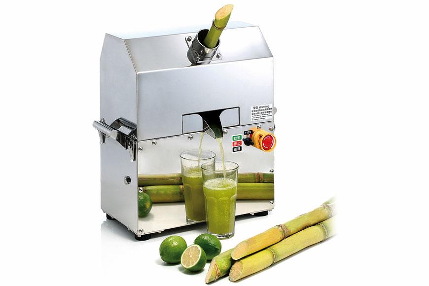 Extracteur de jus de canne à sucre de comptoir