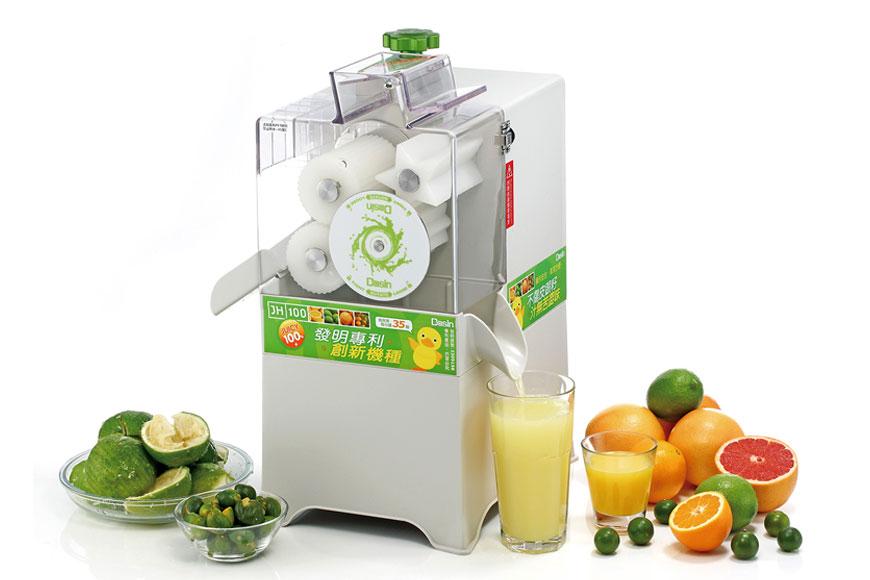 柑橘類單旋鈕綜合水果榨汁機