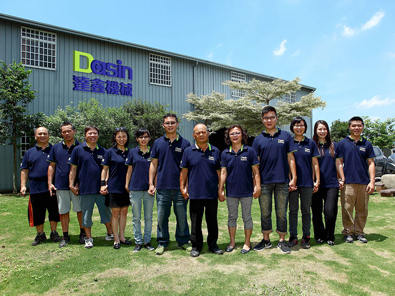 Dasin uses more than 40 years of production experience to design new products, optimize and manufacture existing products.