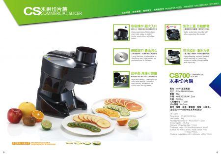 CS Commercial Slicer