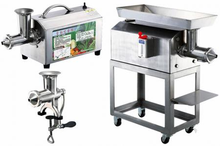 Mittelprodukt - Mühle für Obst und Gemüse - Agentenprodukt