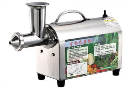 Moedor de 1/10 HP para frutas e vegetais