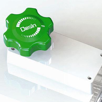 Design de bot?o de controle único, fácil de usar.