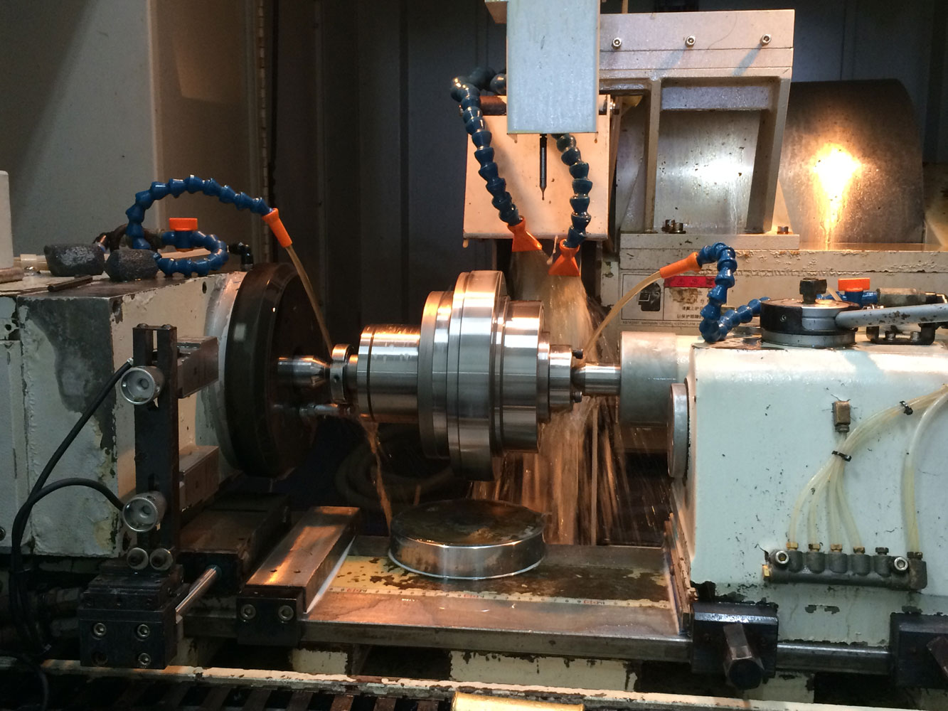 Ju Feng provides CNC grinding service for customers worldwide.
