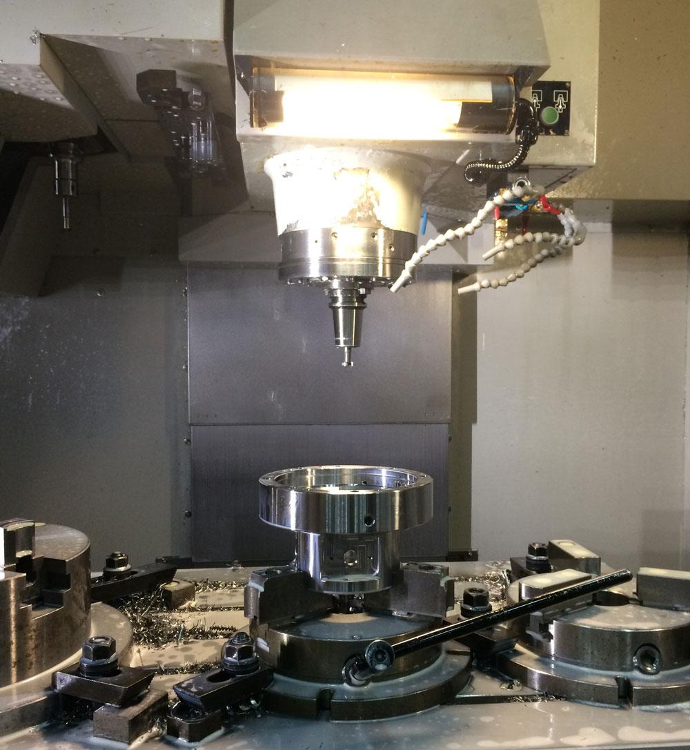 يوفر الفريق الهندسي لـ Ju Feng خدمة الطحن CNC للعملاء في جميع أنحاء العالم.