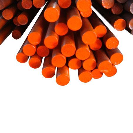 تمتلك Ju Feng مخزونًا من الفولاذ عالي الكربون لتلبية الاحتياجات الفورية للعملاء.