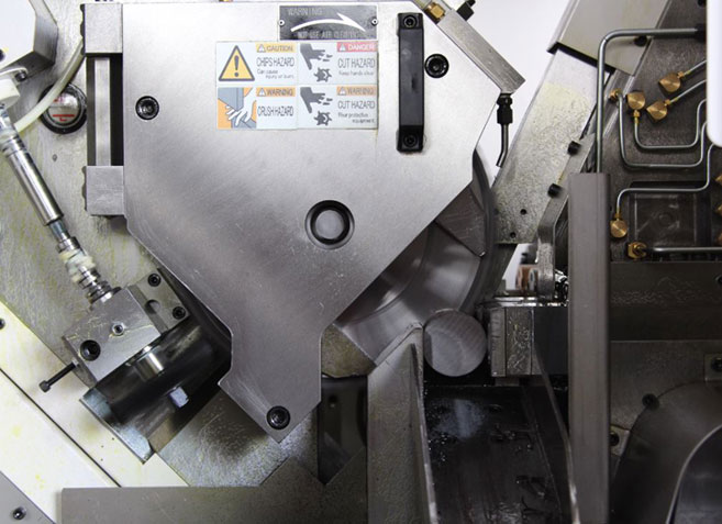 Ju Feng provides to its customers, cutting service for round bar.
