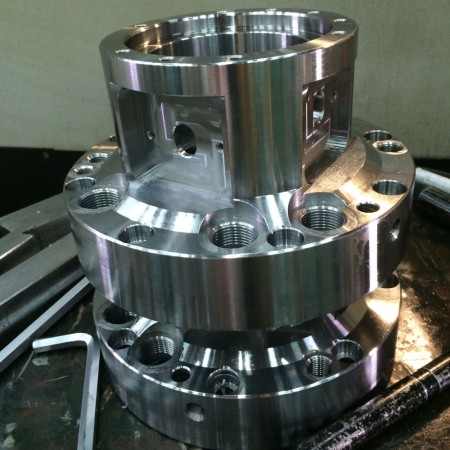 Ju Feng's milling workshop can finish the parts with complex design which customer request.