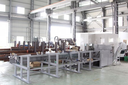 Ju Feng's 2rd steel cutting center