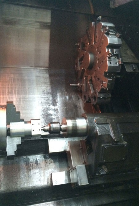 The advanced CNC turning machines, used by Ju Feng engineering team, are ready to meet any customer's turning demands.